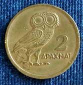 Eulen Auf Münzen